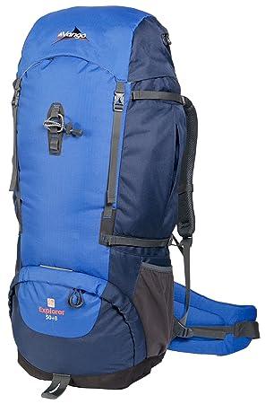 Vango RUHEXPLORSB2R0Y Explorer - Mochila de senderismo (50 L), color azul: Amazon.es: Deportes y aire libre