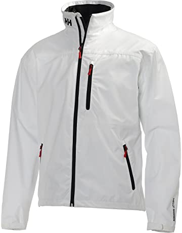 Helly Hansen Crew Midlayer Jacket, Chaqueta Impermeable para Hombre, Color Blanco (Bright White