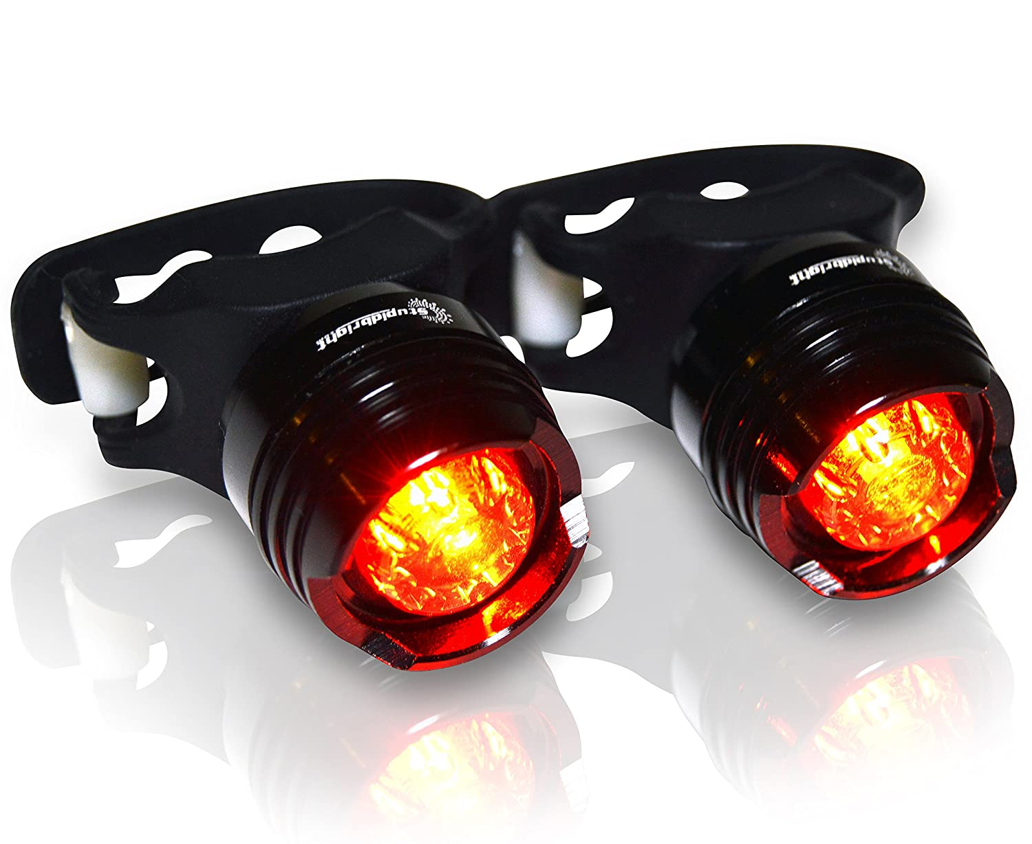 Stupidbright Sbr 1 Strap On Led Rear Bike Tail Light