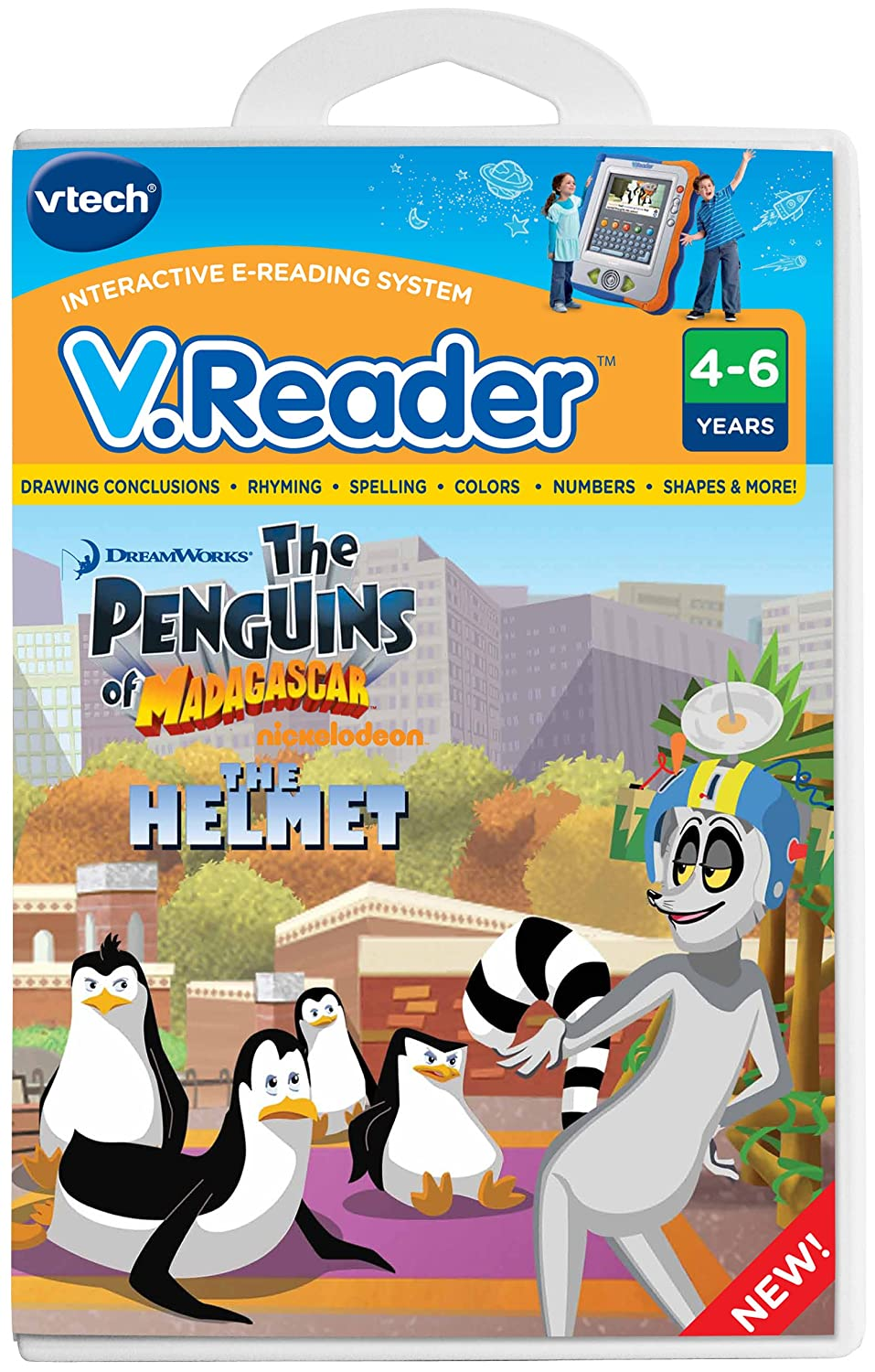 Vtech V.Reader Animated E-Book Reader - Penguins 80-281700