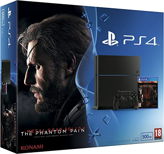PlayStation 4 - Consola 500 GB + Metal Gear Solid V: Amazon.es: Videojuegos