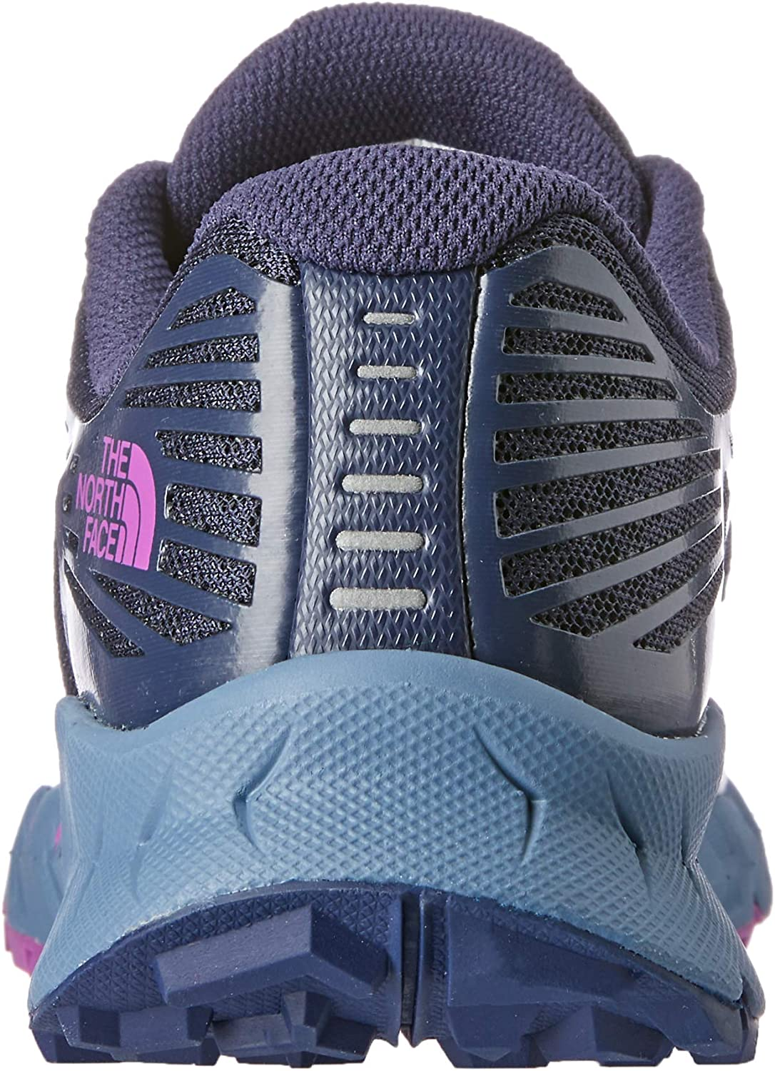 The North Face Women's Corvara Trail Running Shoes, Peacot NVY/PRP Catus Flwr Blue (Peacot Nvy/Prp Catus Flwr)