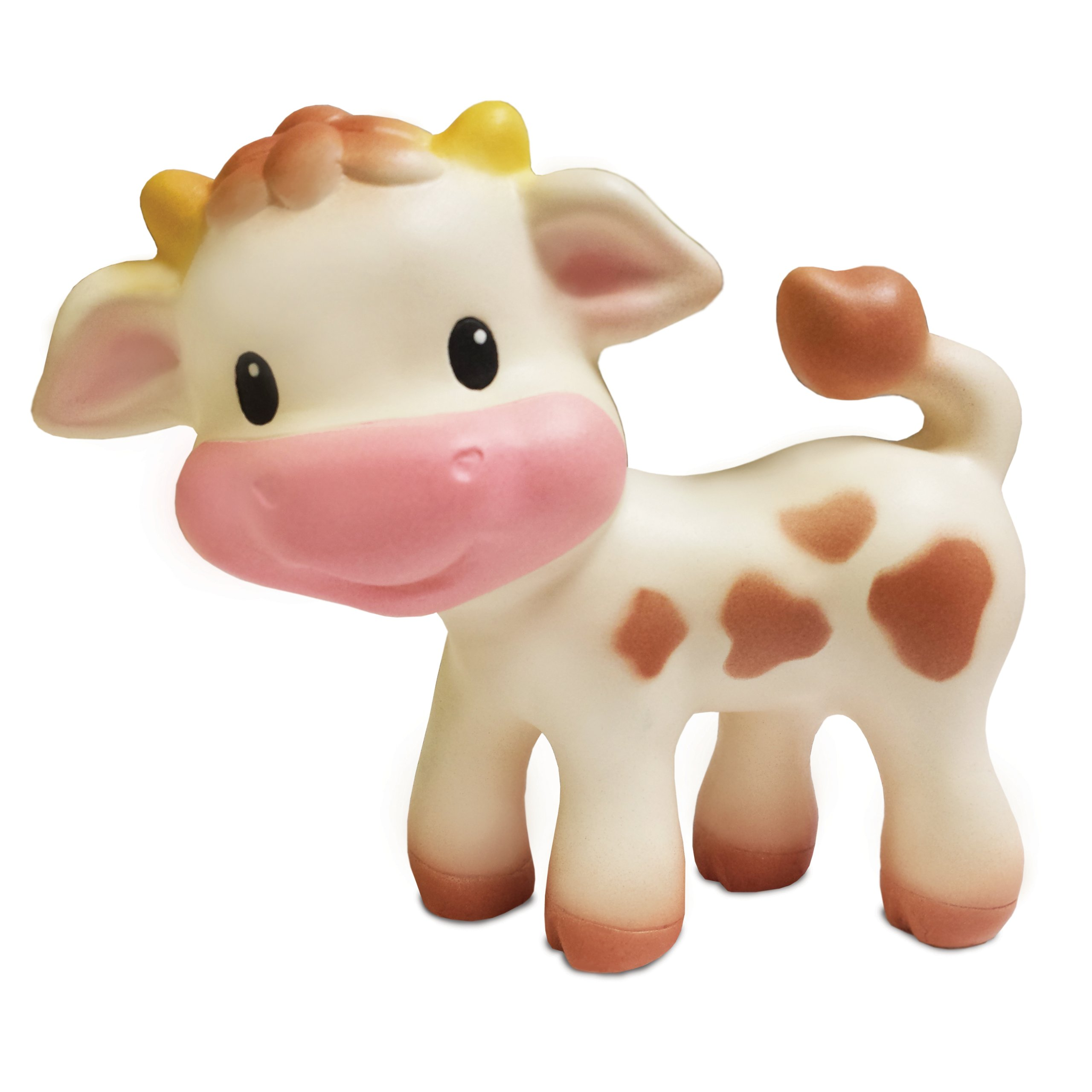 Infantino Teether Toy, Squeeze and TeeThe Cow
