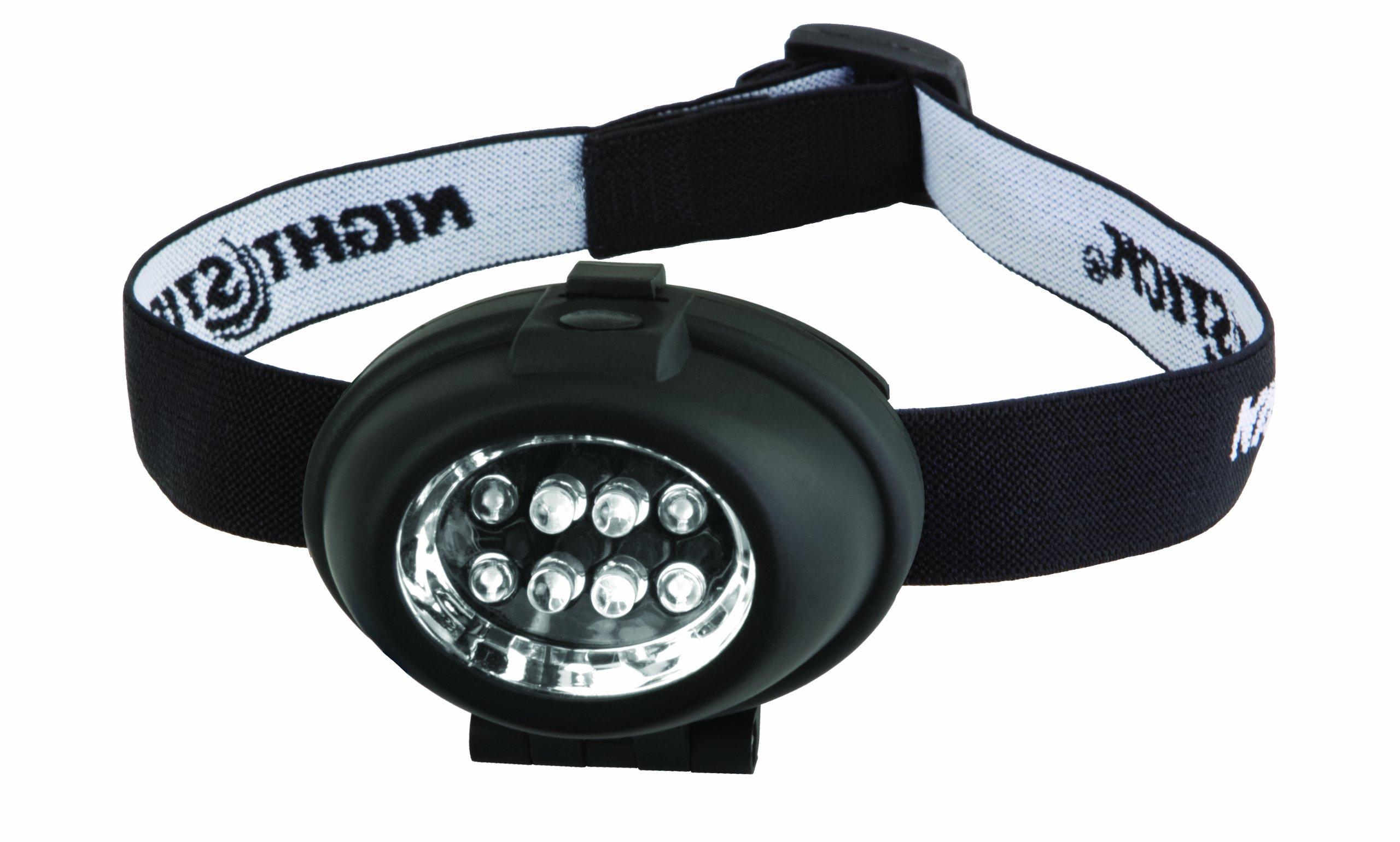 Bayco NSP-2208 Night Stick 8 LED Headlamp, Black