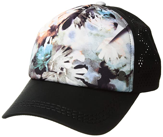 f4267d74 Roxy Women's Waves Machines Trucker Hat, Bachelor Button Water of Love, One  Size