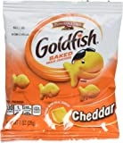 Pepperidge Farm Cheddar Goldfish Crackers, 45 - 1oz Pouches