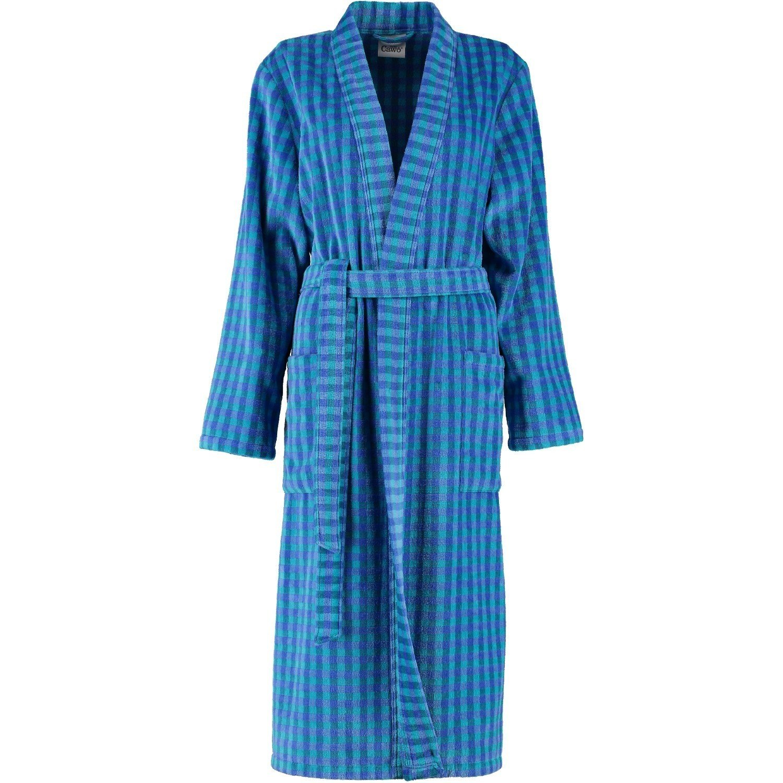 Cawö Damen Kimono 2430 Fb. 11 - blau Größe 40