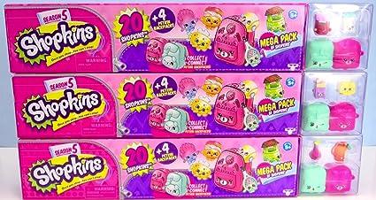Shopkins Season 5 Complete Mega Pack Collectors Set All 3 Packs