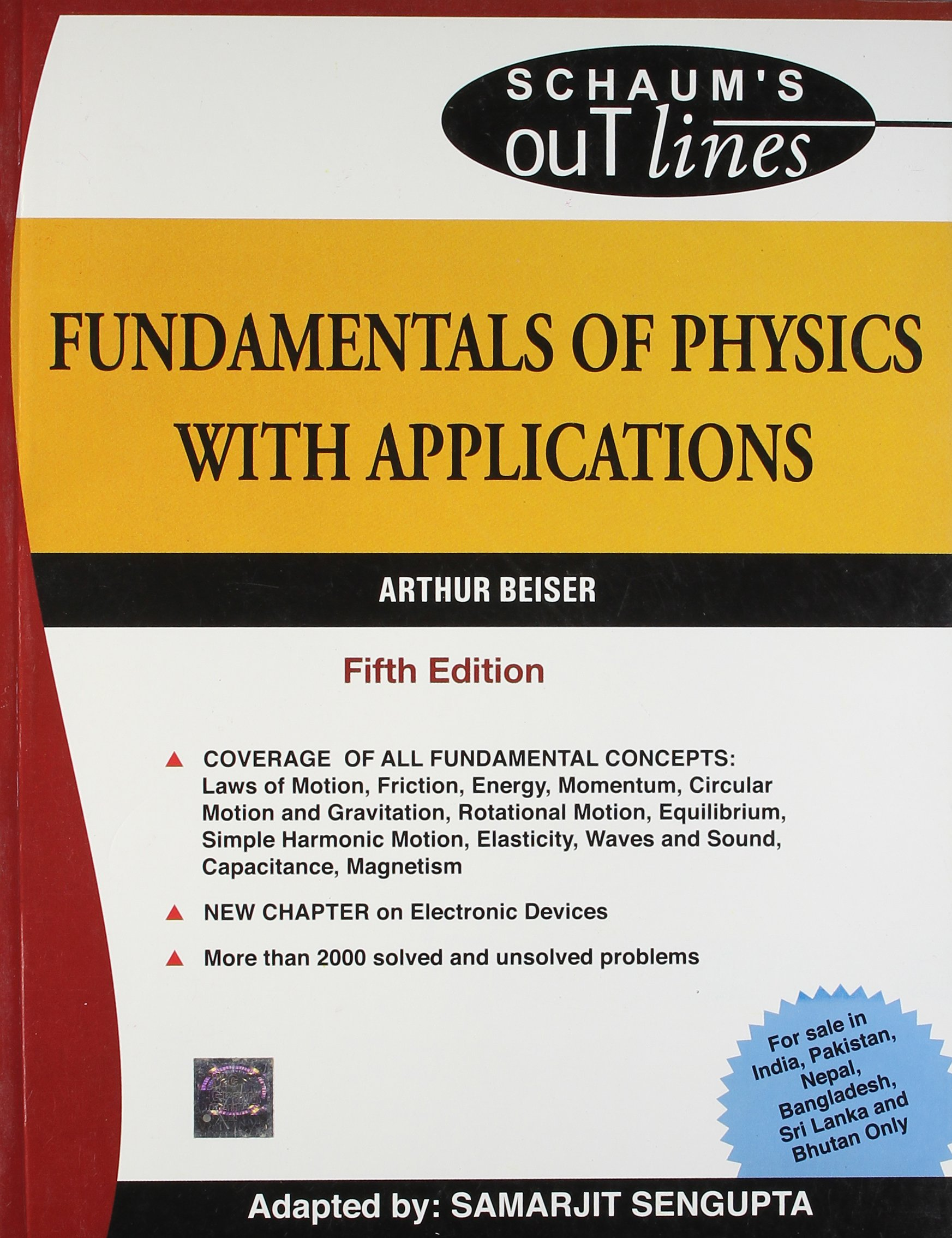 Buy fundamentals of physics with applications schaum s outline series book online at low prices in india fundamentals of physics with applications