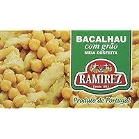 Salade de Morue/Pois Chiches à l'Huile d'Olive Extra Vierge Ramirez 120 g - Lot de 6