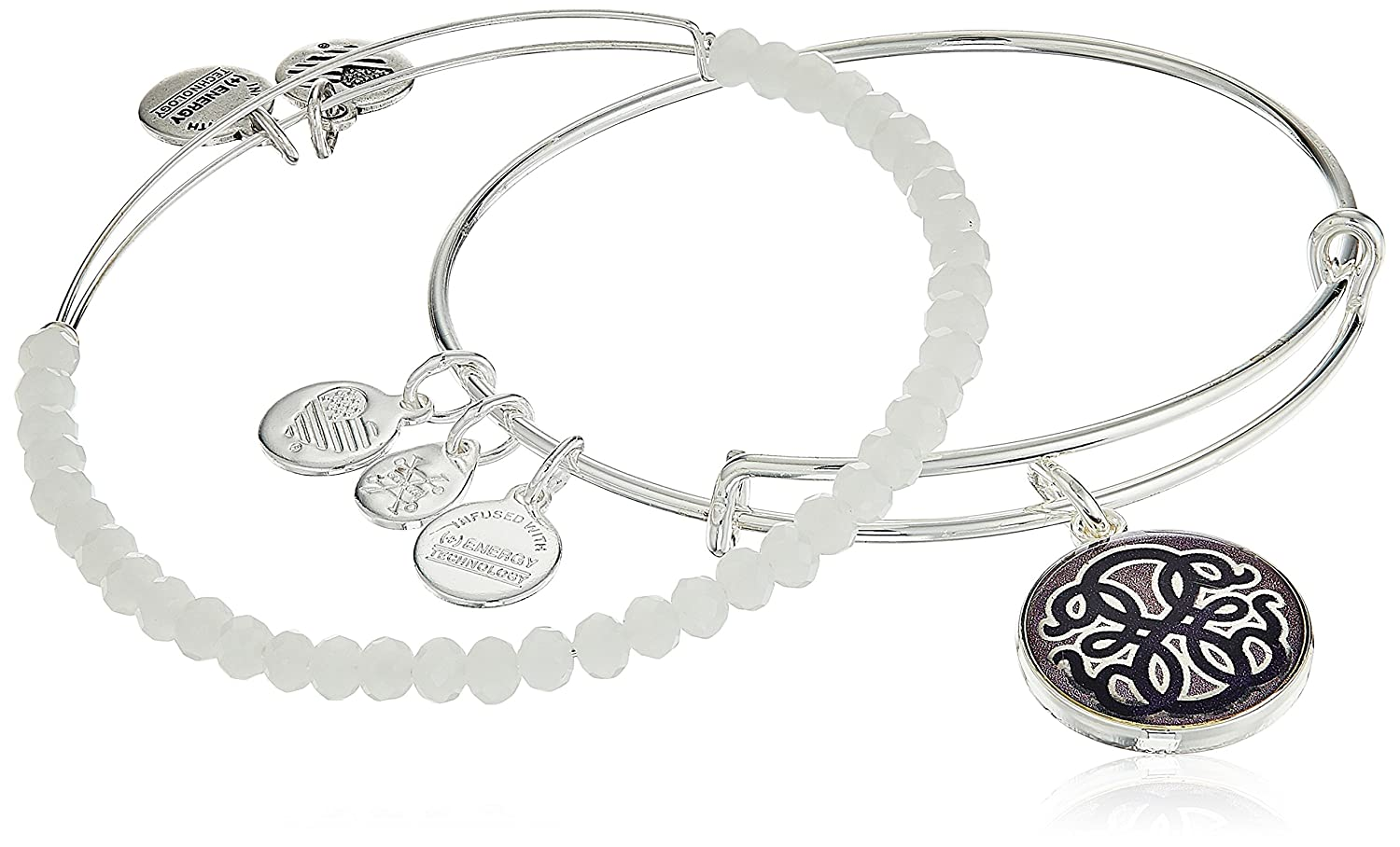 Alex and ANI Womens Art Infusion Path of Life II Bracelet Set Alex and Ani Art Infusion A17SETAI03SS