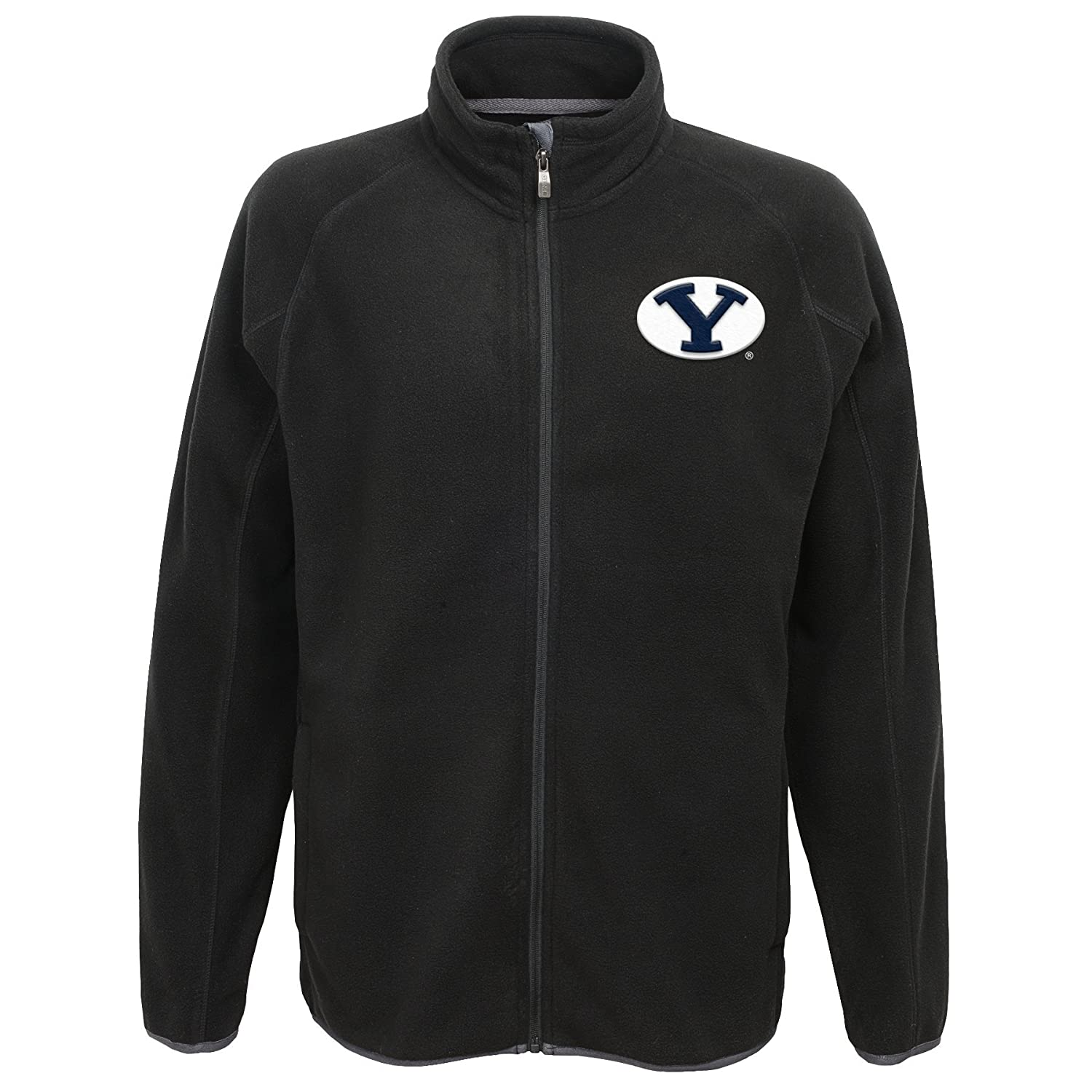Black NCAA Byu Cougars Mens  Outerstuff Scrimmage Full Zip Jacket X-Large