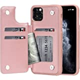 Arae Case for iPhone 11 pro max PU Leather Wallet Case with Card Pockets Back Flip Cover for iPhone 11 pro max 2019 6.5…