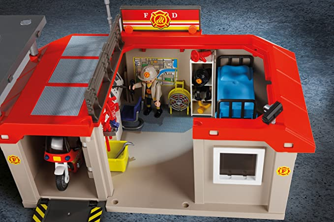 Cranbury 5663 PLAYMOBIL Take Along Fire Station Playmobil