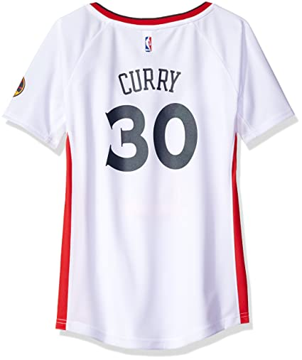 NBA Women s Golden State Warriors Stephen Curry Replica Player Stretch  Jersey 3a61d85c3