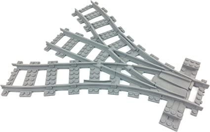 LEGO® City Eisenbahn 3D RC kompatible Kreuzung 3D-Druck bricktrain railway