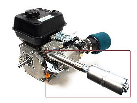 Amazon com: Exhaust With Muffler for: Predator 212cc,Honda GX160