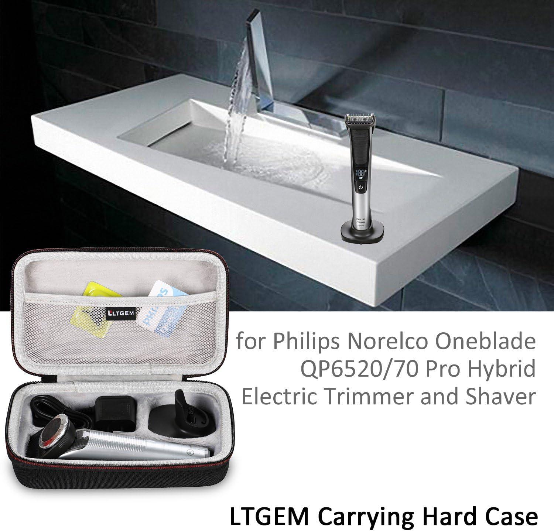 LTGEM EVA Funda Bolso Case para Philips OneBlade Pro QP6520/30 ...
