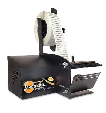 START International LD6025-2EU Dispensador de Etiquetas Eléctrico para Etiquetas cortas, Ancho Mínimo de