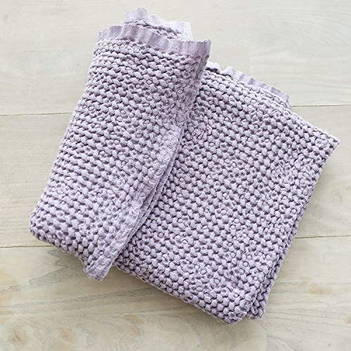 a154bc890e2cc Amazon.com: Lilac Linen Baby Blanket, Linen Blanket, Organic Baby ...