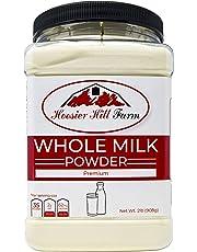 Hoosier Hill Farm All American Whole Milk Powder 2 LBS, Hormone Free, Gluten Free, Made in USA