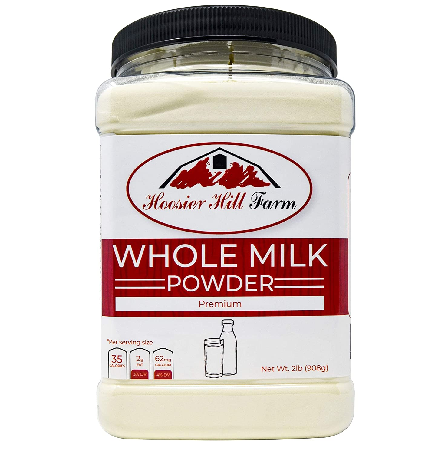 Hoosier Hill Farm All American Whole Milk Powder, 2 Pound