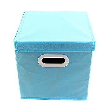 acheter populaire 9b724 a49f9 Boîte de Rangement en tissu avec Couvercle Cube de Rangement ...
