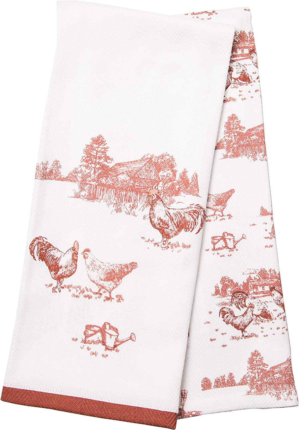 Better Homes & Gardens Red Rooster Kitchen Towels, Set of 2