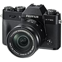 Fujifilm X-T20 24.3MP 4K Ultra HD Digital SLR Camera with 16-50mm Lens + $100 Gift Card + SanDisk 64GB SD Card
