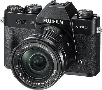 Fujifilm X-T20 24.3MP 4K DSLR Camera w/16-50mm Lens + $100 GC