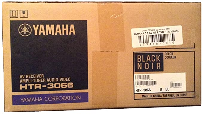 Amazon.com: Yamaha HTR-3066 Home Theater Receiver HDMI 3D YPAO USB connection for Ipod Iphone Ipad or android phones and Tablets HTR3066: Electronics