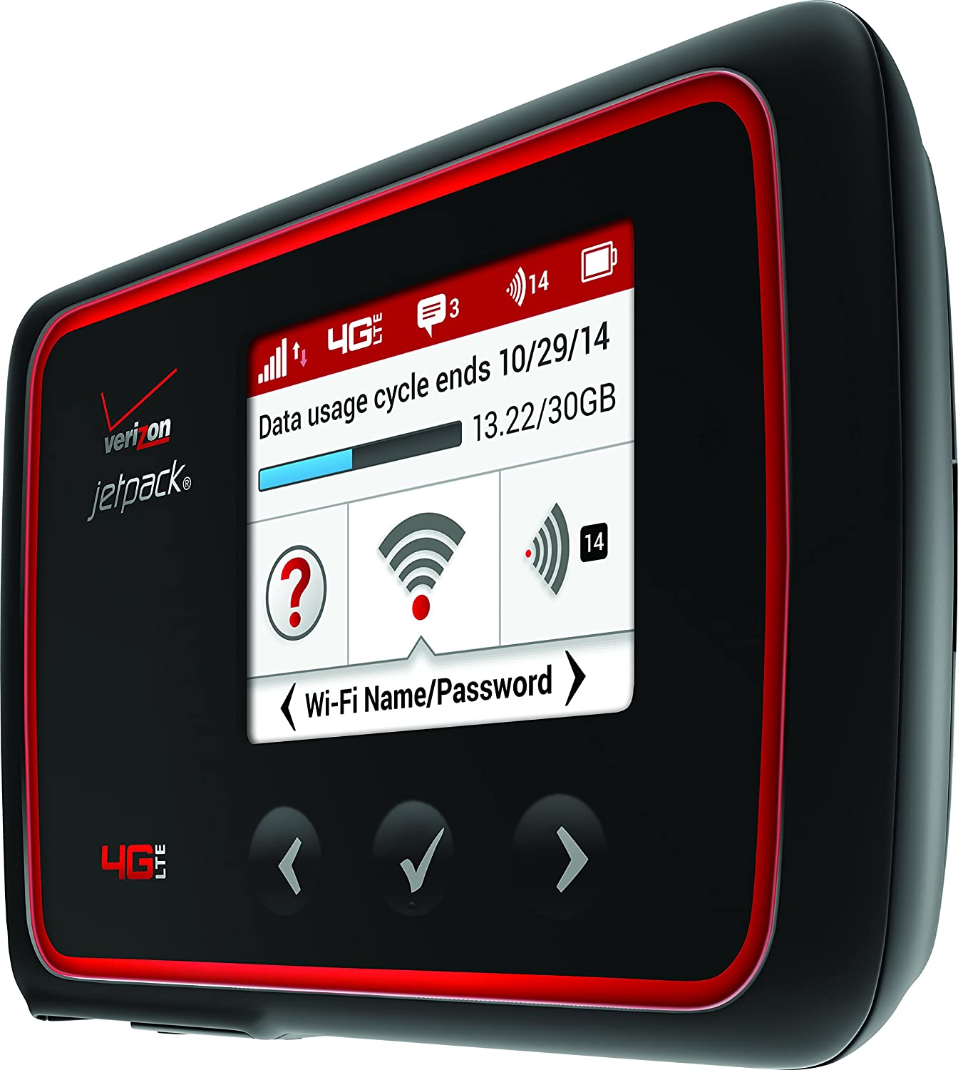 Amazon Com Verizon Mifi 6620l Jetpack 4g Lte Mobile Hotspot Verizon Wireless