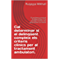 Cal determinar si el delinqüent compleix els criteris clínics per al tractament ambulatori. : El problema principal és determinar si un possible membre del grup està en un mínim