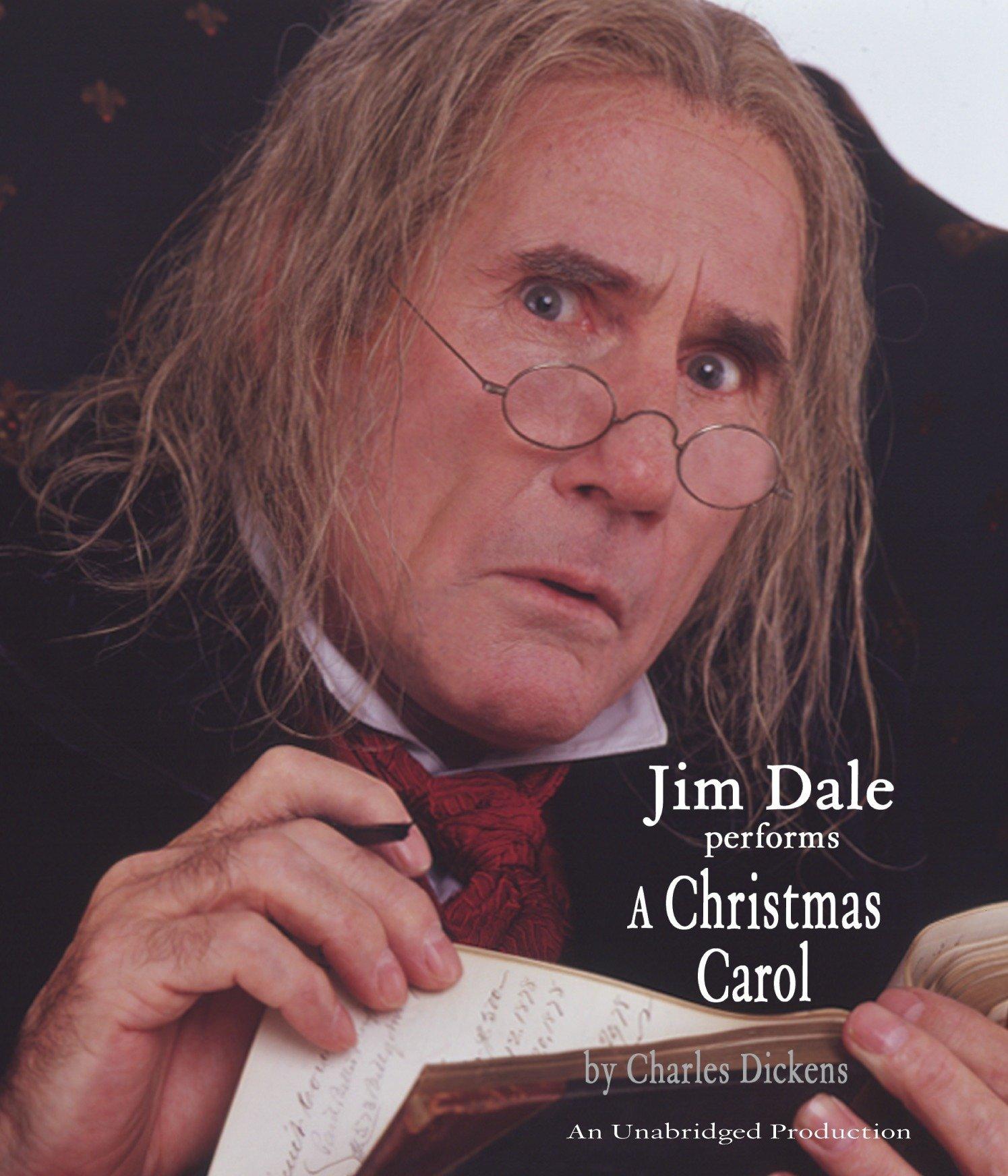 a christmas carol charles dickens jim dale 9781400086030 amazoncom books - Author Of A Christmas Carol