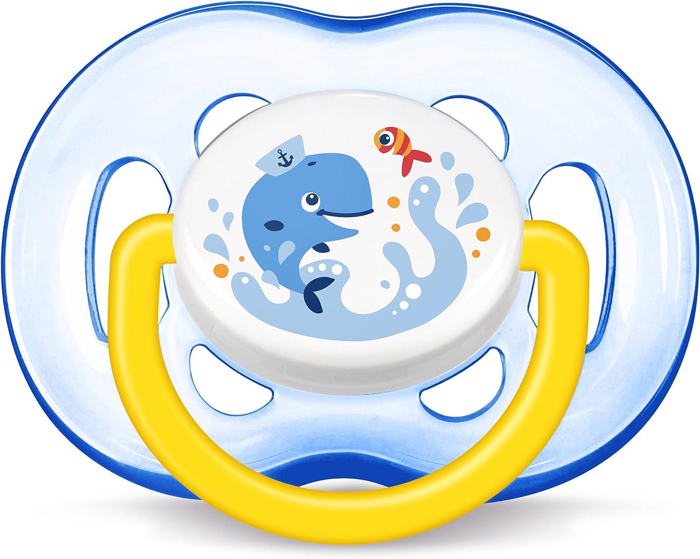 Chupete cl/ásico para beb/és, Silicona, Multicolor, 6 mes Philips AVENT SCF169//37 es 18 mes , Inglaterra es Chupete