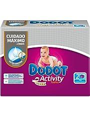 Dodot Activity - Toallitas, 108 unidades