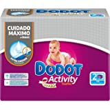 Dodot Activity - Toallitas, 108 unidades