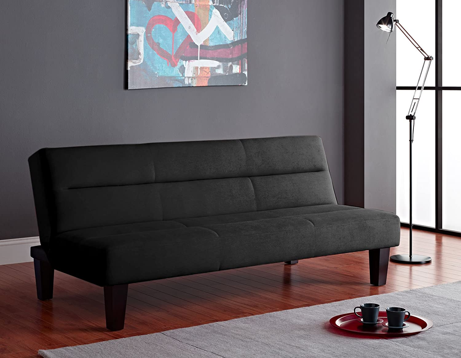 amazoncom dorel home products kebo futon black kitchen dining amazon com dorel home products kebo futon black kitchen amp dining aria futon sofa bed