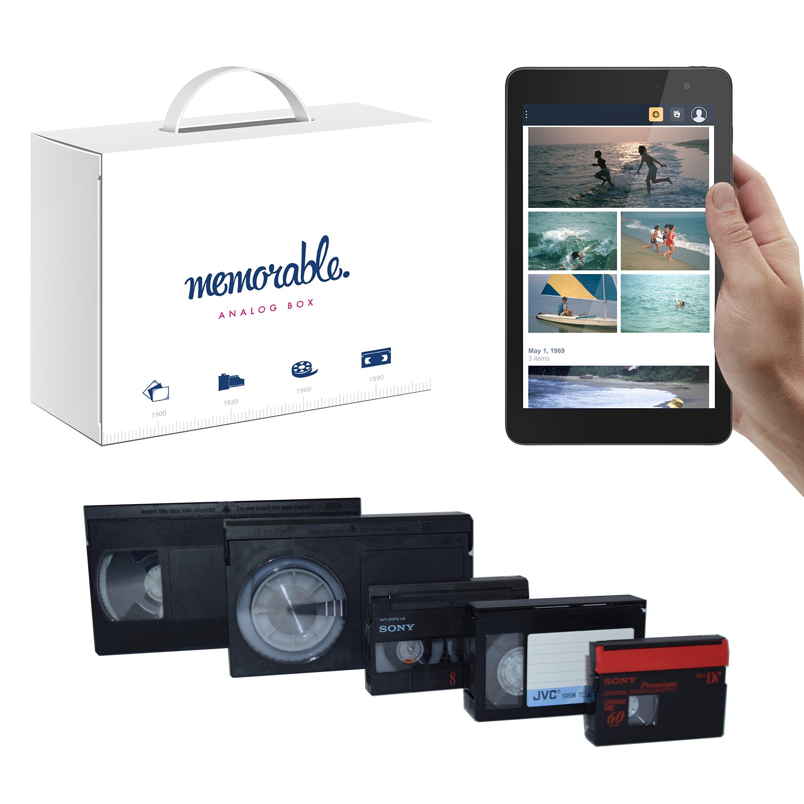 Memorable Video Transfer Service (VHS, 8mm, Hi-8, MiniDV) to Prime Photos - 1 Tape