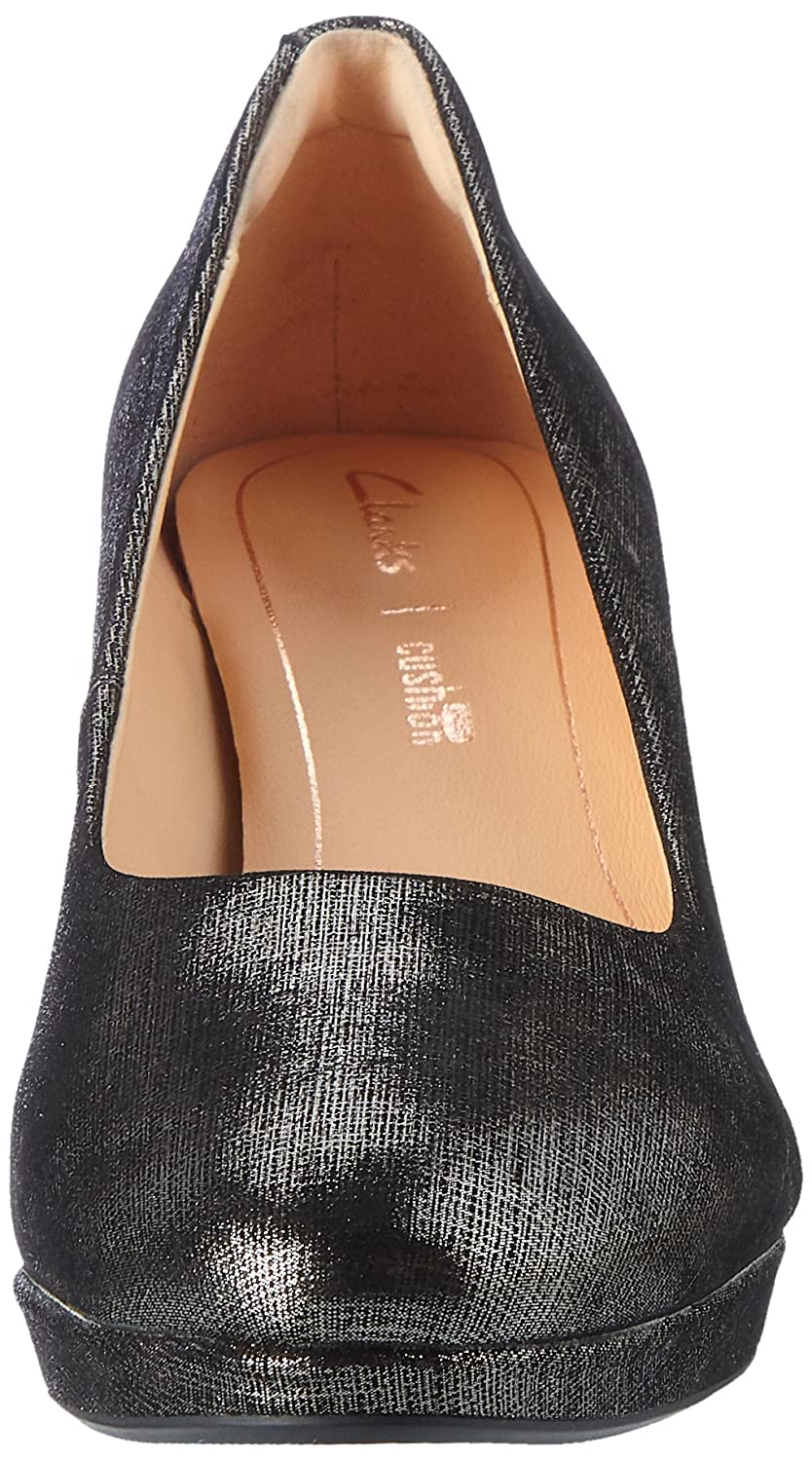 Clarks Damen Pumps Kelda Hope Pumps Damen Beige (Pewter Metallic) 0067d3