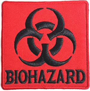 Patch Iron-On  Biohazard Symbol Embroidered Applique Patches For Jackets