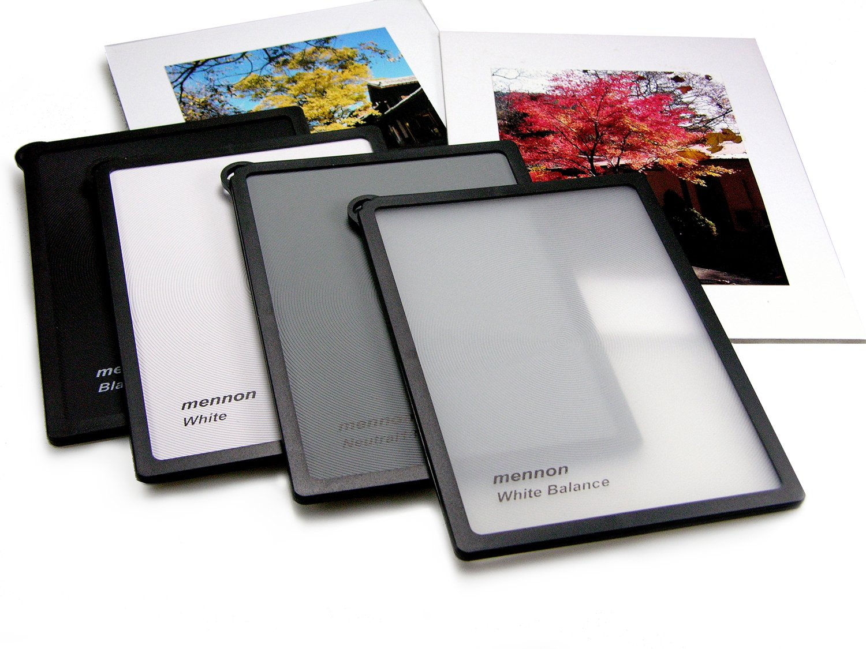 Mennon Multi-Function Waterproof Gray Cards 4 in 1 Set