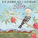 Jewish Art Calendar by Mickie 2019