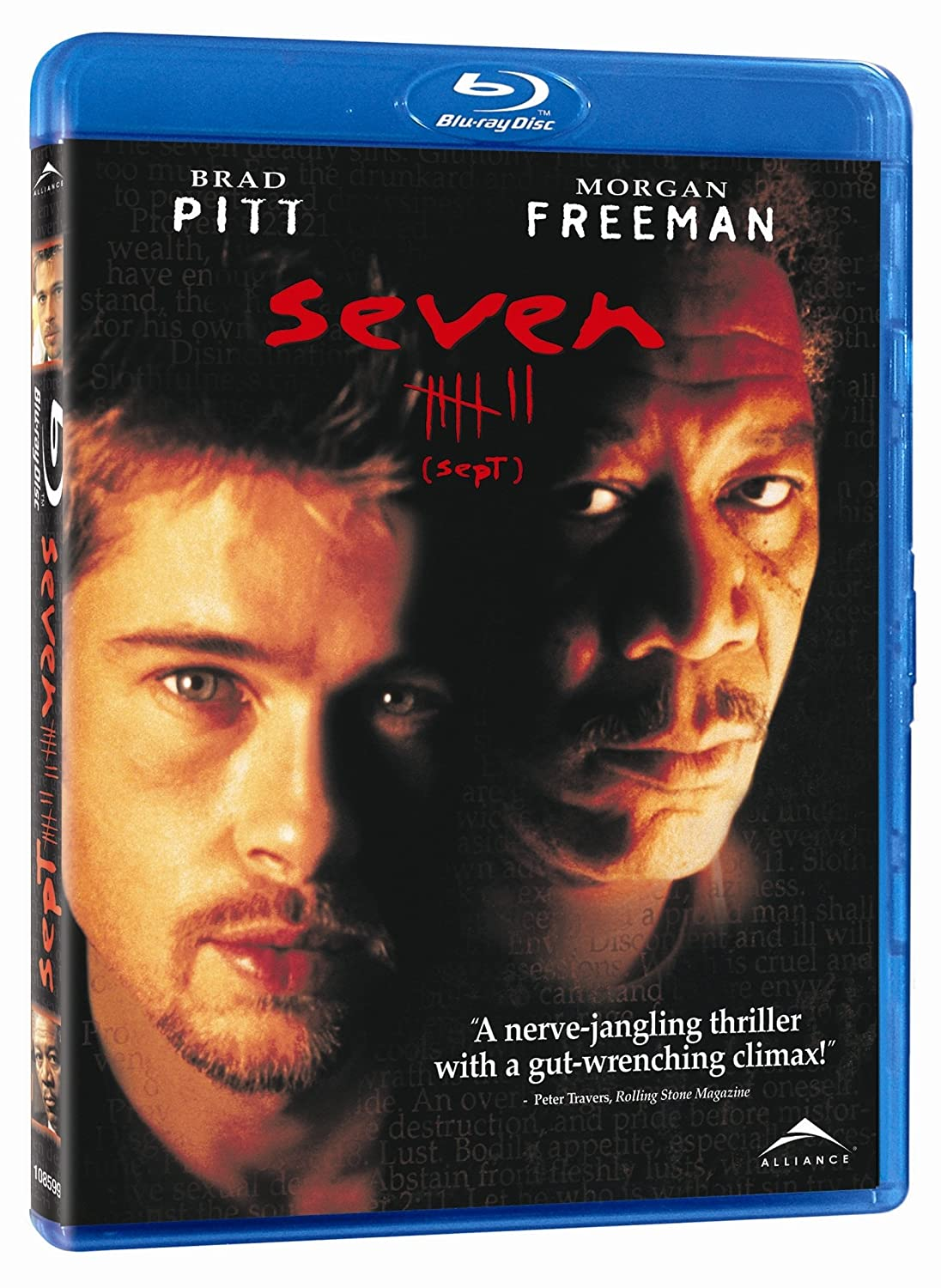 Se7en 1995 BluRay 480p 400MB Dual Audio ( Hindi – English ) MKV