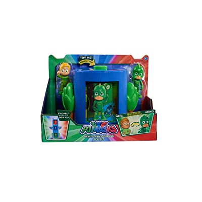 PJ Masks Transforming Figure Set-Gekko: Toys & Games