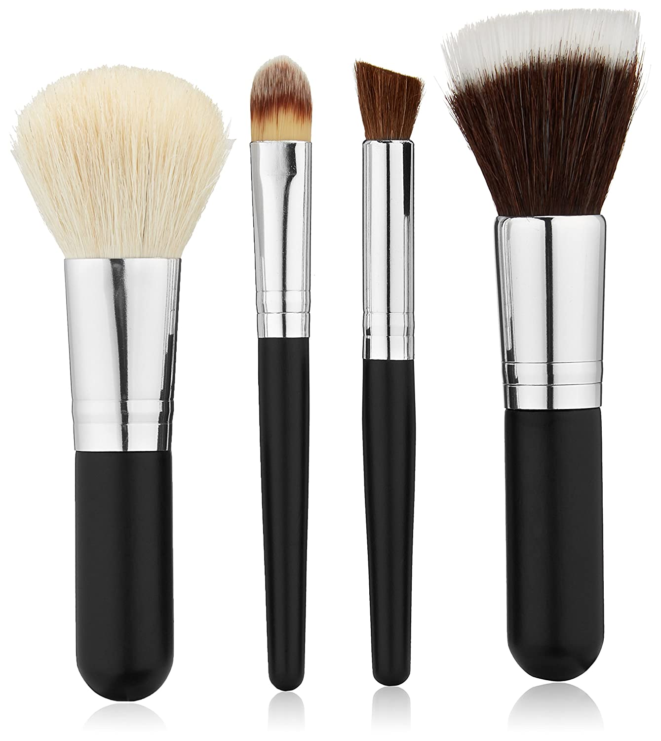 Amazoncom Studio Basics Mineral Makeup Brush Set With Soft, Natural,
