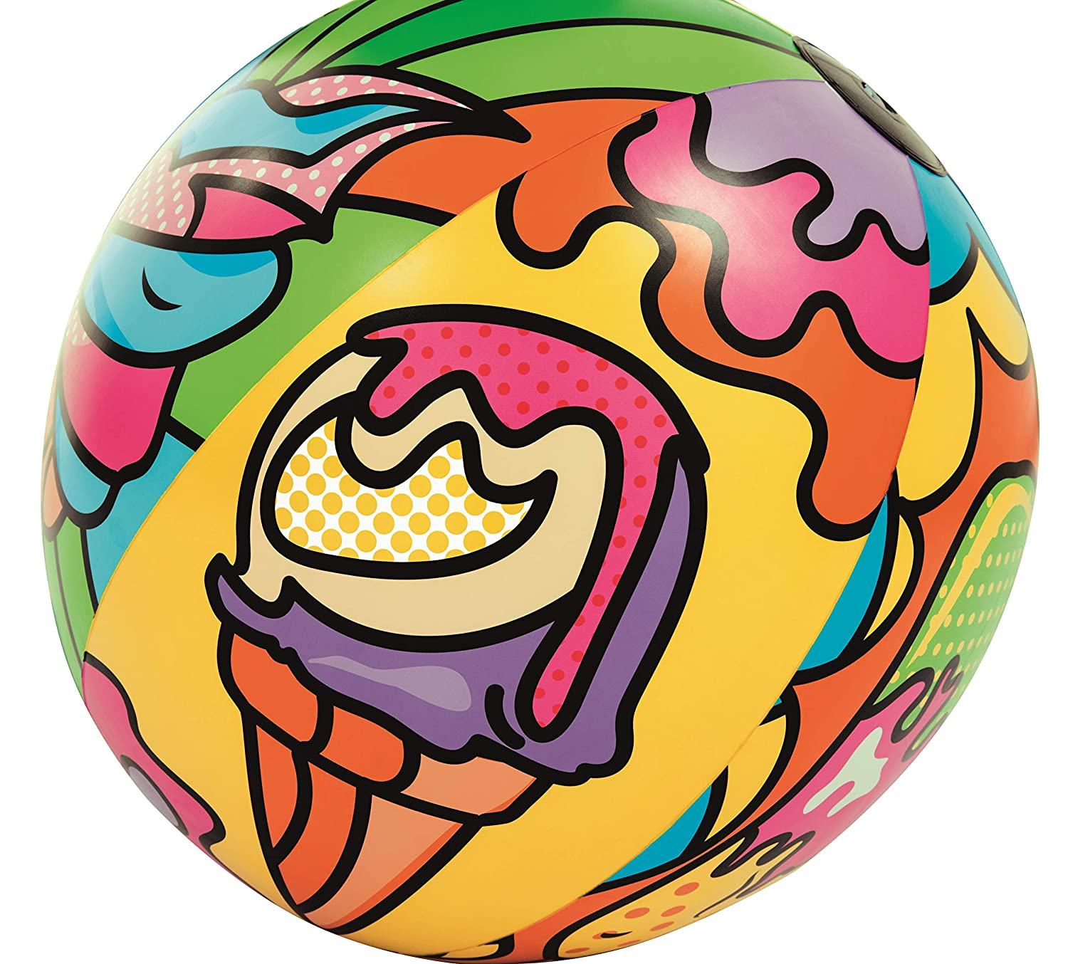 Inflatable Art Collection Colourful Beach Ball