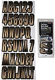 Hardline Products BRBKG300 HARD LET/NUM KIT