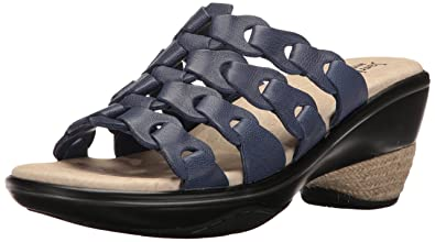 Jambu Women's Romance Platform Sandal, Navy, ...
