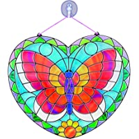 Melissa & Doug Stained Glass Made Easy Activity Kit: Butterfly - 140+ Stickers